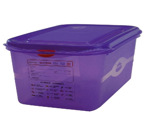 GN 1/2 150-es allergén ételtároló doboz 10 l (K80032630)