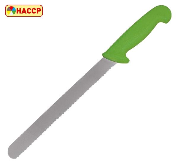 Kenyérvágó kés 20 cm zöld (K80070031)