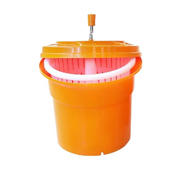 Salátacentrifuga 25 l narancssárga műanyag (K80116204)