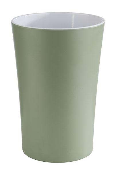 Dresszing tartó zöld PASTELL melamin, csúszásmentes talppal, egymásba rakható 13x20cm, 1,5l (AP84862)