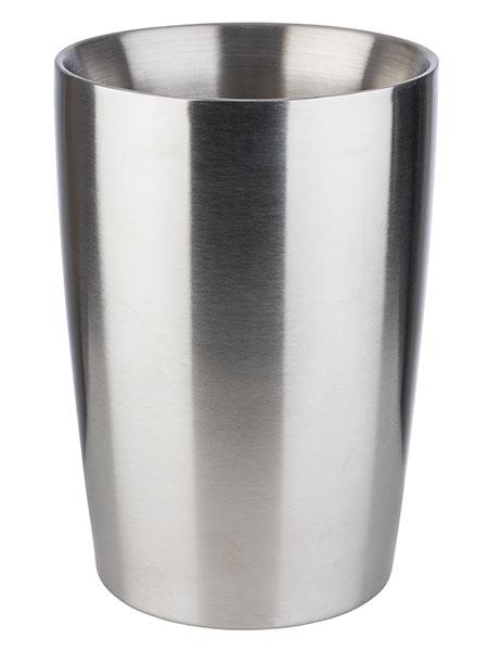 Dresszing tartó rm acél, dupla fallal, csúszásmentes talppal, egymásba rakható 13x20cm, 1,5l (AP30060)