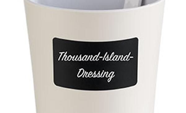 Dresszing tartóra ragasztható etikett 72db/csomag 8x4,6cm (AP00069)
