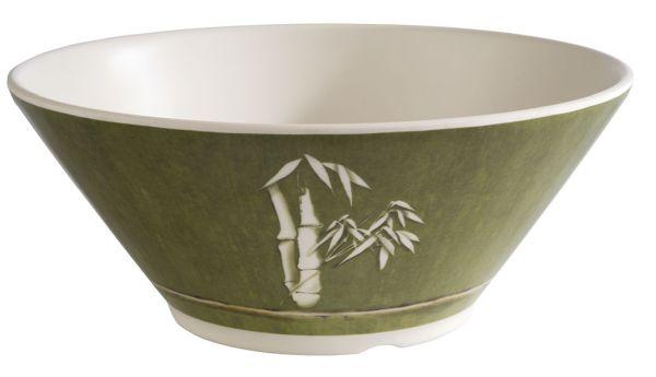 Green bamboo tál 22,5x9,5cm, 1,3l, (AP34645)