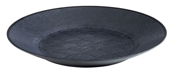 DARK WAVE melamin tál (40,5x5,5cm) (AP84913)