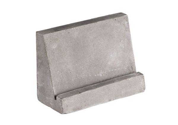 Kártyatartó 2db-os szett beton, 15db fehér és 15db fekete kértyával (8x3,5x6cm) (AP71495)