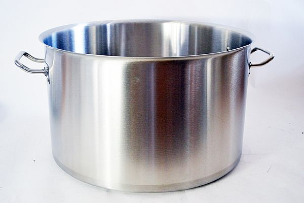 Magaslábas rozsdamentes acél 2,8 liter, ø:18cm, mag.: 11cm (AVR0613)