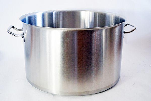 Magaslábas rozsdamentes acél 44 liter, ø:45cm, mag.: 28cm (AVR0626)